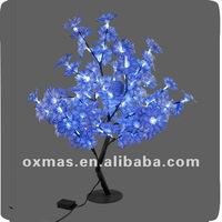 80cm blue Christmas led light tree