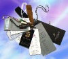 Various high quality clothing labels and tags