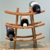 decorative desk wooden wine rack