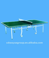 double-folding outdoor table tennis table