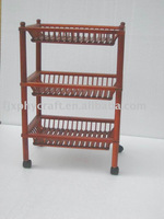 Wood Collecting Rack Trolley