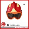 polyamine fibre fire fighter helmets (America style ) with goggles