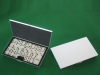 mini metal domino with dots including 32pcs