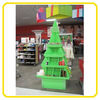 christmas tree shape floor display units