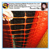 security warning nets/plastic security warning fence/orange warning nets/