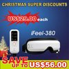 Xmas Sales Far Infrared electronic eye mask beauty eye massager