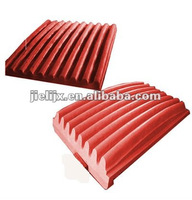 2012 hot sales and best seller Cast jaw plate Casting spare parts