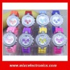 Wholesale Geneva Silicone Jelly Watches, Diamond watches with 10 colors