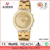 2012 Gold new hot sale wristwatch