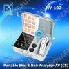 NV-102 Boxy skin&hair analyzer ,connect to computer with AV function (CE Approved)