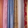 100% polyester satin for curtain