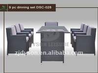 9 pc dinning set outdoor table and chair