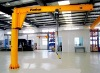 Workshop heavy duty column swing jib crane with CE cert