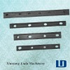 China railway fish plates and rail clamps