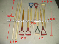 Wooden Shovel Handle for Shovel, Hoe, Fork, Pick