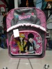 2012 hot sale latest fashion cartoon school bags for teens