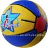 mini colorful rubber promo basketball