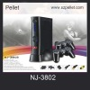 Home TV Arcade Game NJ-3802 with Wireless controller video game player supporting TF card media player function
