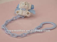 lovely elephant Baby pacifier/baby soother