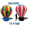 global inflatable oxford cloth light balloon