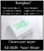 Cleanroom Paper for general wiping Cleanroom wipes KB-0609 cellulose polyester wipe