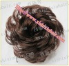 The quality cheap human hair bun hairpieces for women