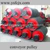 belt conveyor pulley lagging
