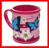 colorful new designPVC CUP MUG for promotional
