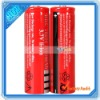 Red 3.7V 18650 Li-ion Rechargeable Battery