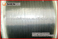 Stainless steel wire rope with material AISI304