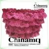 2012 MQ new pink lace tube tops bra
