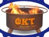 Phi Kappa Tau cast iron fireplace