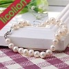 wholesale good luster cheaper freshwater pearl bracelet