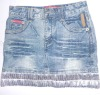 fashion jean skirt