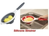 silicone pop-up strainer