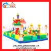 2012 Popular kids jumping castle inflatable castle (KFW-I1001)