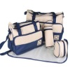 Microfiber Printed 5 set fashion Mummy Baby changing bag