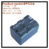 universal camera battery BP522A for Canon Comcorder