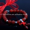 2012 newest design sterling silver 925 agate beads bracelets