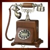 Collaposible Wooden Smart Dial Phone(Retro Vintage Antique Home Deco Classic)