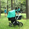 2012 NEW GREEN COLOR OF BUGABOO CAMELEON CHARCOAL STROLLER