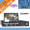 8ch 7 inch hidden TFT H.264 Network DVR