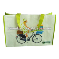 2013 factory selling 2012 christmas crafts high quality pp woven shopping bag