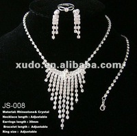 So beautiful!!! new design for wedding bridal jewelry sets