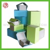 new design fashion full color printed paper gift box