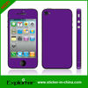 for IPHONE4 decal skin