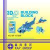 plastic 3D plane buidling block toy