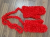 hand knitted glove