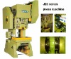 Travel adjustable power press or pressing machine or punching machine