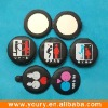 Pocket Cosmetic Mirror With PVC Cover
